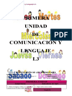 Sexto PRIMERA INGLÉS L3