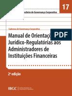 17 - Manual de Orientações Jurídico-Regulatórias aos Administradores de Instituições Financeiras