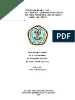 Sampul depan penelitian