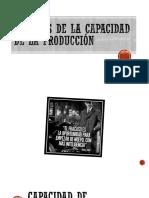 ANÁLISIS DE LA CAPACIDAD DE LA PRODUCCIÓN