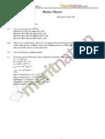 CBSE XII Board Paper - Physics Set 3