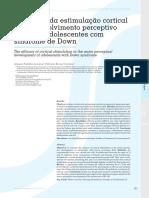 ESTIMULAÇÃO CORTICAL E DOWN - ConScientiae