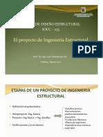 1 Etapas del Proyecto de Ing Estructural - Mar 2021
