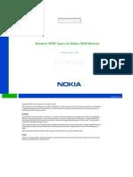 Browser MIME Types in Nokia CDMA Devices v1 4 En
