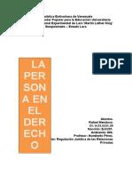 La Persona y El DerechoS6