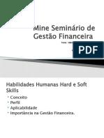 Seminário de Gestão Financeira