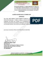 Certificado Ok Campano