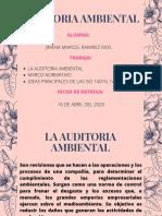 Trabajo 01 - La Auditoria Ambiental.marco Normativo.normas Iso 14010,14011,14012