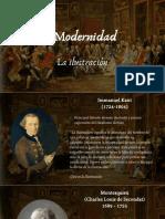 HCyC 5.2 Modernidad. La Ilustracion
