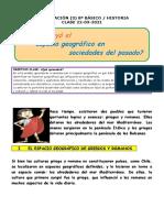 HIST 8º LAS PRIMERAS CIVILIZACIONES COMO HERENCIA AL MUNDO ACTUAL-GUÍA DE TRABAJO