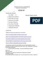 Guia 1 Ingles. Seccion 2. Aameam PDF