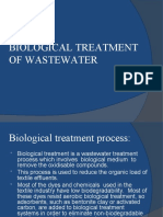 Biological Treatment of Waste Water