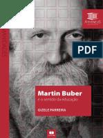 Martin Buber e o Sentido da Educação - Gizele Parreira