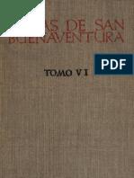 Obras de San Buenaventura tomo VI. Cuestiones disputadas sobre la perfección evangélica. Apología de los pobres.