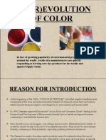 The (r)Evolution of Color