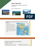PPT paisajes de América del norte- centro y sur