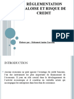 Reglementation baloise et risque de crédit