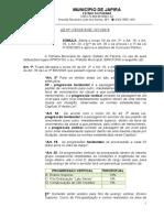 Lei Nº 1197-2019- Plano de Carreira-FINA