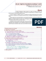 Analyse Des Circuits en Regime Transitoire (1)