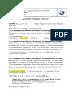 Taller Vivios Del Lenguaje Fonseca Michelle Segundo Contabilidad b