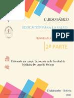 DOSSIER 2º Modulo Educación para la Salud 2021