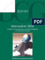 BCG Report on Innovations 2010