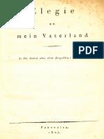 1807,Elegie an Mein Vaterland