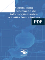 Manual para Interpretação de Informações Sobre Substâncias Químicas - FUNDACENTRO