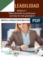 EMPLEABILIDAD M1 Como hacer una hoja de vida ganadora.pdf · versión 1