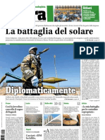 TERRA - quotidiano ecologista - edizione del 09/03/2011