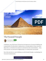 The Pyramid Principle _ by Ameet Ranadive _ Lessons from McKinsey _ Medium