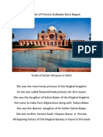 In the Praise of Princess  Gulbadan Banu Begum