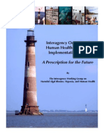 Interagency Oceans and Human Health Research Implementation Plan