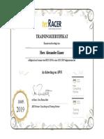 AWS Zertifikat