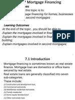 AF 325 topic 7 Mortgage Financing