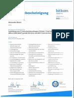 Knorr, Alexander IT-Sicherheitsbeauftragten (ITSiBe) / Chief Information Security Officer (CISO)