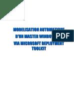 projet master windows