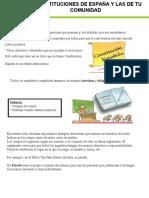 instituciones de españa y comunidad 5º primaria adaptado
