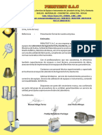 Carta de presentacion PERUTEST S.A.C.