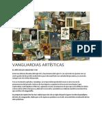 VANGUARDIAS ARTÍSTICAS