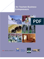 A Guide for Tourism Business Entrepreneurs