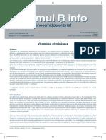 Vitamines Et Mineraux