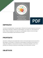 Aula 04 Neurociência Cognitiva e Aprendizagem