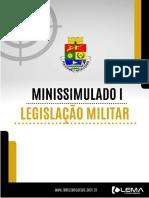 Minissimulado de Legislação Militar