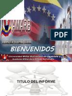 MODELO DE PRESENTACION DEL INFORME TACTICO 2021