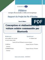 Rapport PFE Voiture Solaire ORIGINAL