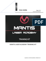 Mantis Laser Academy Training Kit
