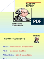 Corporate Governance-cadbury report