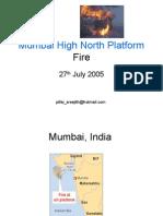 Mumbai Offshore platform Fire