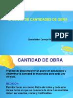 8. CANTIDADES DE OBRA